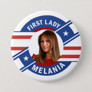 Melania Trump 3 Inch Round Button