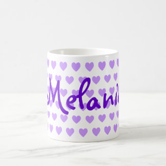 Melanie in Purple Coffee Mug
