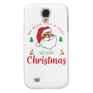 Melanin Christmas afrocentric Santa
