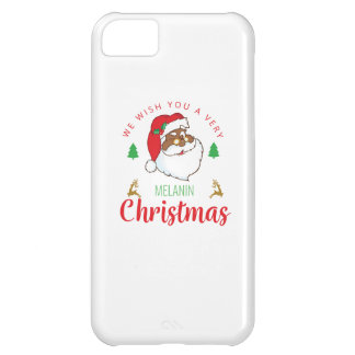 Melanin Christmas afrocentric Santa Case-Mate iPhone Case