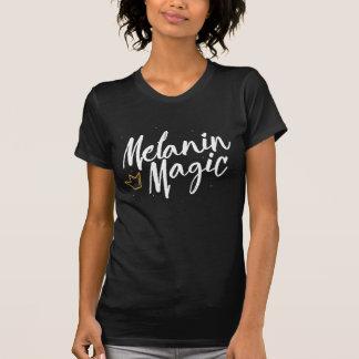 Melanin Magic w/ Gold Crown - Black Girl Magic Tee