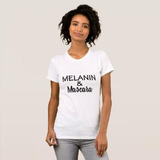 MELANIN & Mascara T-shirt