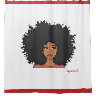 Melanin Me Shower Curtain