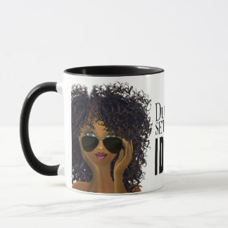 MelaninBerry Beauty I Dont Settle Affirmation Mug