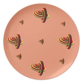 Melanine Plate
