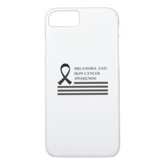 Melanoma And Skin Cancer Awareness  Fight Cancer iPhone 8/7 Case