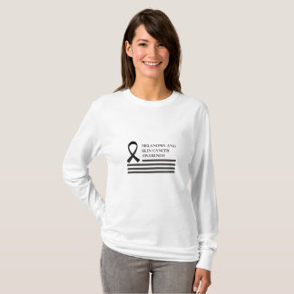 Melanoma And Skin Cancer Awareness  Fight Cancer T-Shirt