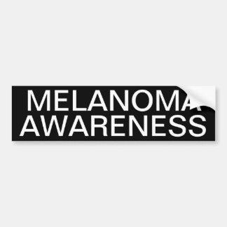 Melanoma Awareness Bumper Sticker