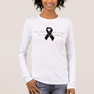 Melanoma Awareness Long Sleeve T-Shirt