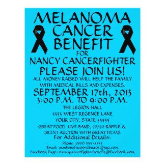 Melanoma Cancer Benefit Flyer