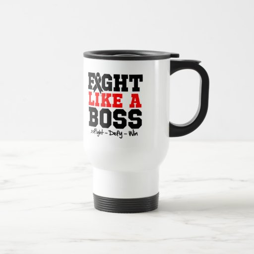 Melanoma Fight Like a Boss Mug