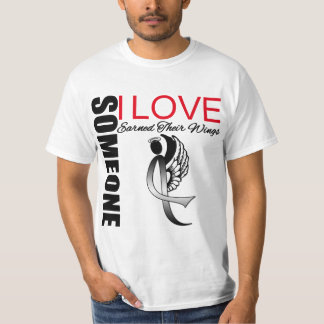 Melanoma Someone I Love Earned Their Wings T-Shirt