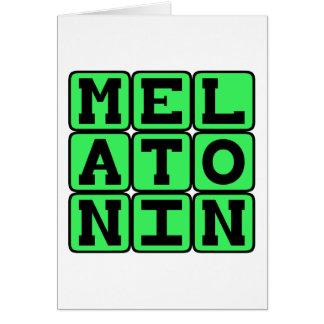 Melatonin, Sleep Aid Card
