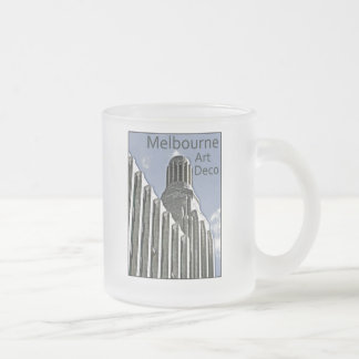 Melbourne Art Deco - Century Building 10 Oz Frosted Glass Coffee Mug