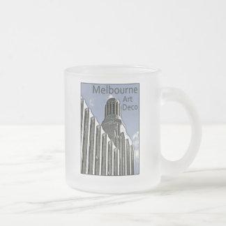 Melbourne Art Deco - Century Building 10 Oz Frosted Glass Coffee Mug