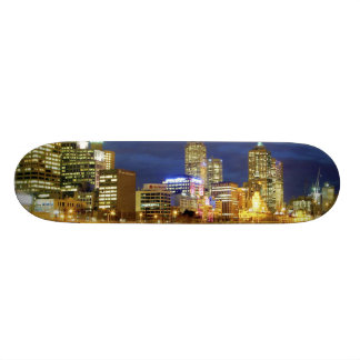 Melbourne, Australia. A nighttime view of the 2 Skateboard Deck