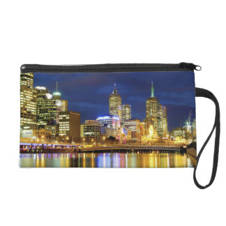 Melbourne, Australia. A nighttime view of the 2 Wristlet