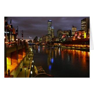 Melbourne, Australia Card