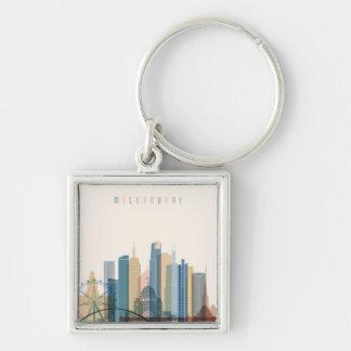 Melbourne, Australia   City Skyline Keychain