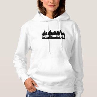 Melbourne Australia Skyline Hoodie