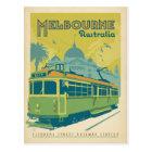 Melbourne, Australia - Trolley Postcard