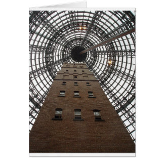 Melbourne Central Historic Shot Tower Card