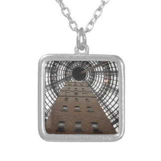 Melbourne Central Historic Shot Tower Silver Plated Necklace