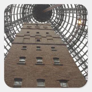 Melbourne Central Historic Shot Tower Square Sticker