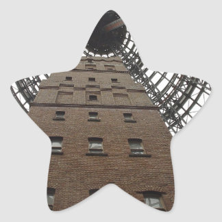 Melbourne Central Historic Shot Tower Star Sticker