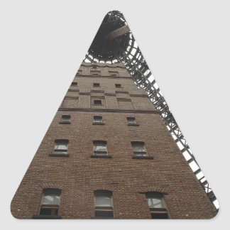 Melbourne Central Historic Shot Tower Triangle Sticker