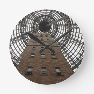 Melbourne Central Historic Shot Tower Wall Clock
