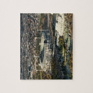 Melbourne Cricket Ground and Tennic Centre Jigsaw Puzzle
