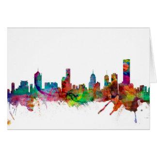 Melbourne Skyline Card