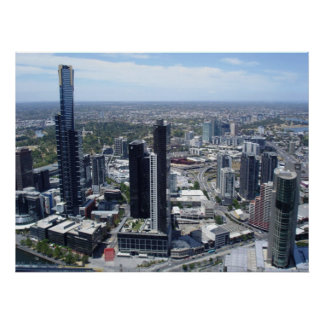 melbourne skyline poster from 14.95