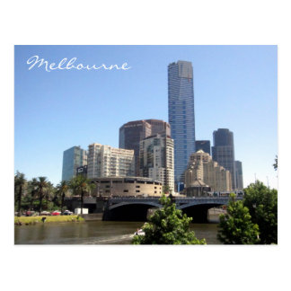 melbourne southbank postcard