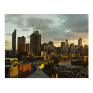 Melbourne Sunset Postcard