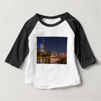 Melbourne' Yarra River at night Baby T-Shirt