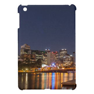 Melbourne' Yarra River at night iPad Mini Cover