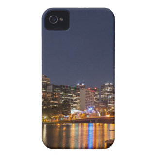 Melbourne' Yarra River at night iPhone 4 Case