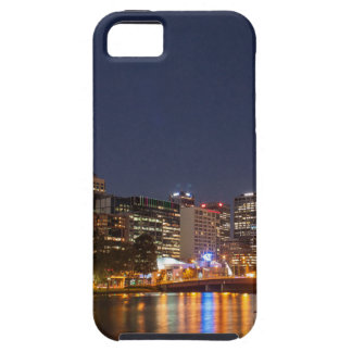 Melbourne' Yarra River at night iPhone 5 Cover