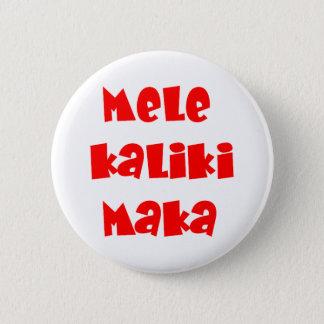 Mele Kalikimaka 2 Inch Round Button