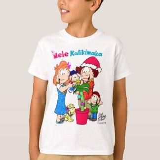 Mele Kalikimaka Keiki (Kids) T-shirt