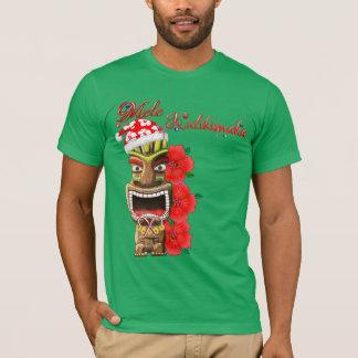 Mele Kalikimaka Santa Tiki T-Shirt