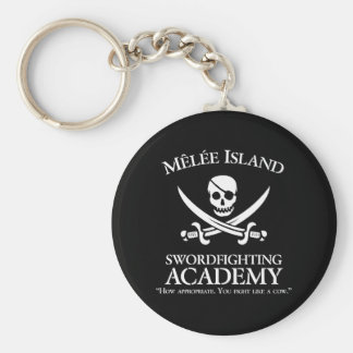 Melee Island Swordfighting Academy Keychain