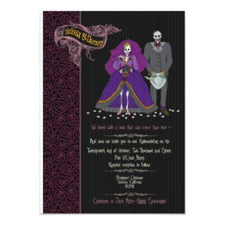 melissa and damon wedding invitation