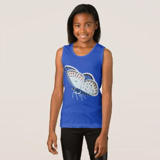 Melissa Blue Butterfly Tank Top