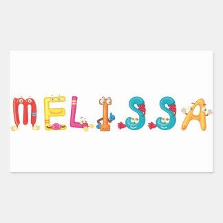 Melissa Sticker