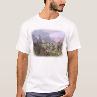 Melizod's Castle (White Border) T-Shirt