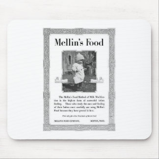 Mellin's Food Advertisement Mouse Pad