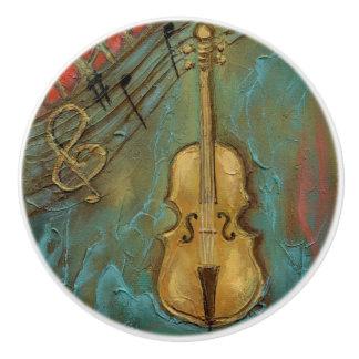 """""""Mello Cello"""" Ceramic Knob"""
